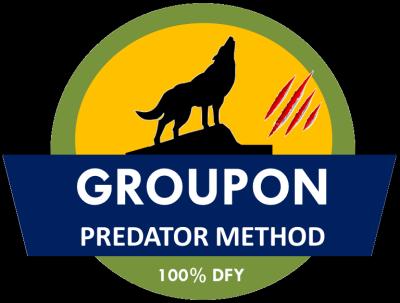 Groupon Predator Method Cover