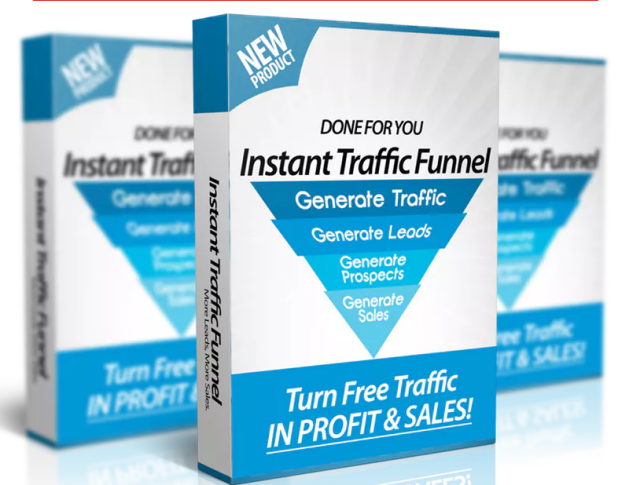 Instant Traffic Funnel Cover