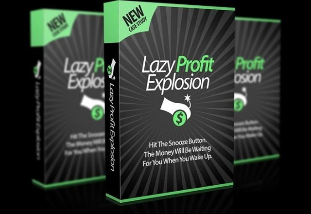 Lazy Profit Explosion Cover