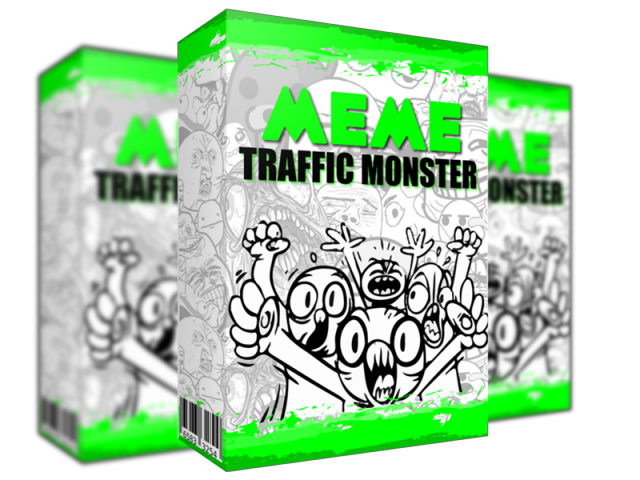 Meme Traffic Monster Cover