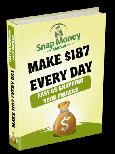 Snap Money Method Cover