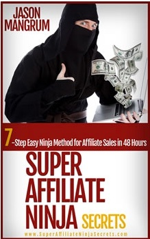 Super Affiliate Ninja Secrets Cover