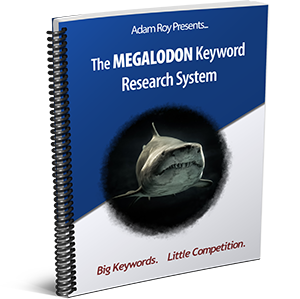 The Megalodon Keyword System Cover