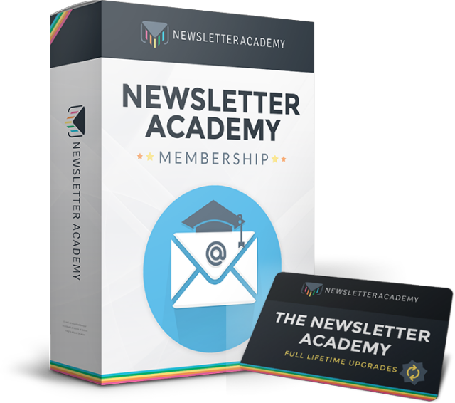 The Newsletter Academy Cover