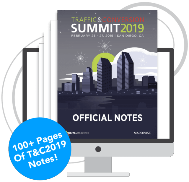 Traffic & Conversion Notes 2018 Cover