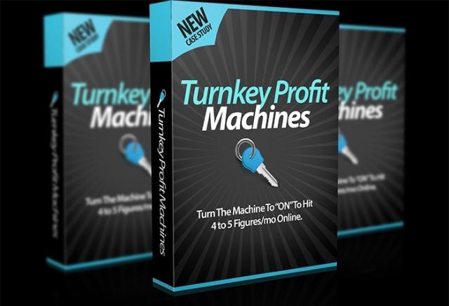 Turnkey Profit Machines Cover