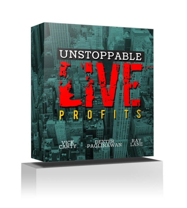Unstoppable Live Profits Cover