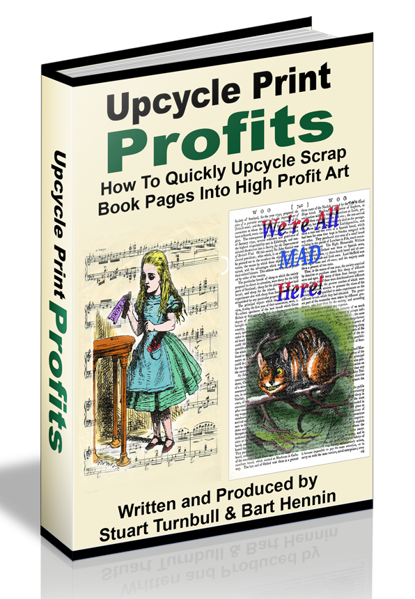 Upcycle Print Profits Cover