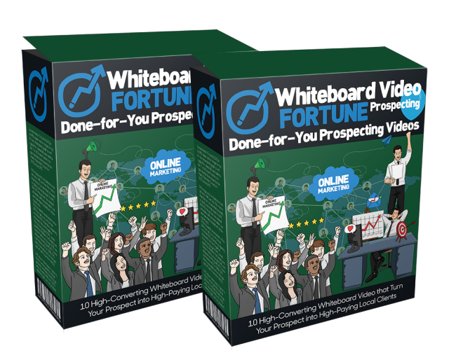 Whiteboard Video Fortune Prospecting Cover