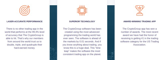 crypto-group-features